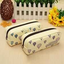 Cartoon Balloon Pencil Case Pen Bag Cosmetic Makeup Storage Organizer Pouch New