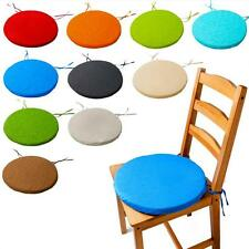 Round Pop Seat Pad Chair Cushion Dining Patio Office Chair Cushion Indoor Tie On