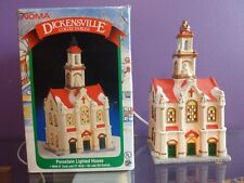 NOMA Dickensville Collectibles Porcelain Lighted House  Vintage 1996