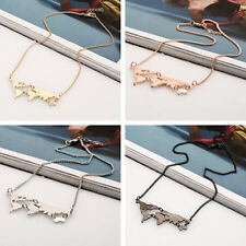 Hot Exaggerated Combination Personality Fashion World map Pendant necklace New