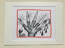"KEITH HARING: Original Limited Edition Lithographs ""PLANET EARTH"", not signed #2"