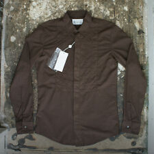 NEW Maison Martin Margiela Dark Brown Shirt GENUINE RRP: £180