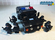 Genuine Lego custom minifigure police SWAT modern soldier special force commando