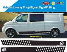 VW Side Stripes Decals Transporter T4 T5 Campervan Vehicle Graphic 018