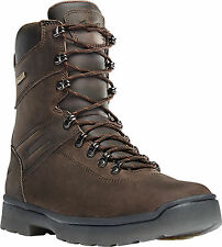 Danner IronSoft 8in NMT Mens Brown Leather Safety Toe Work Boots 14737