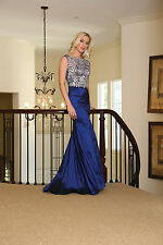 DressOutlet Long Homecoming Formal Prom Dress Plus Size Evening Gown