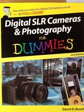Digital SLR Cameras and Photography For Dummies, Busch, David D. Paperback Book