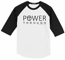 Power Through Christian Cross T shirt