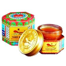 TIGER BALM RED WHITE OINTMENT  MASSAGE  PAIN RELIEF SPRAINS MUSCLE ARTHRITIS