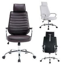 PU Leather High Back Office Task Chairs Computer Swivel Chair Executive Chairs