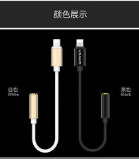 USAMS Lightning To 3.5mm Headphone Jack Adapter Cable 4 iPhone 7 7 Plus Earphone