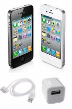 Apple iPhone 4S Unlocked, AT&T, T-Mobile Verizon Sprint 8GB 16 32 64 Black White