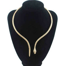 Mystic Fashion Womens Silver Snake Necklace Collar Korean jewelry Free shipping