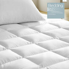 Luxury Extra Deep 500 GSM Washable Quilted Waterproof Mattress Protector Double