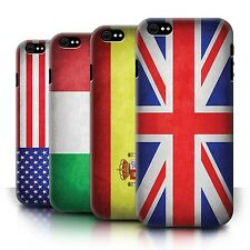 STUFF4 Back Case/Cover/Skin for Apple iPhone 6/Flags