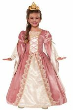 Girls Victorian Rose Costume Dress Princess Quality Halloween Party Home Warm