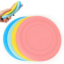 2pcs/lot Silicone Dog Toys Pet Frisbee Flying Disc Toys Training Puppy Fetch Toy