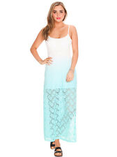 New Mooloola Prea Dip Dyed Maxi Dress in White | Womens Dresses