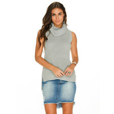 New Mooloola Kensington Knit Top in Grey | Womens Fashion Tops & Shirts