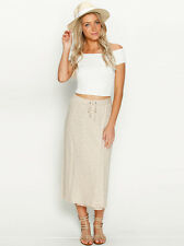 New Roxy Cruise Along Maxi Skirt in Beige | Womens Skirts