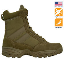 Maelstrom® TAC FORCE 8'' Coyote Brown Military Tactical Work Boots