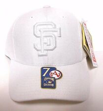 San Francisco Giants American Needle MLB Baseball Fitted Hat Cap White 7 & 7 1/4