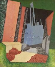 """DIEGO RIVERA Painting Poster or Canvas Print """"Urban Landscape"""""""
