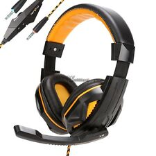 Hot   Surround Stereo Gaming Headset Headband Headphone with Mic for PC WT88
