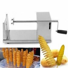 Manual Stainless Steel Twisted Potato Slicer French Fry Vegetable Cutter  I5