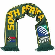 IRB Rugby World Cup 2015 South Africa Supporters Scarf Green Springboks