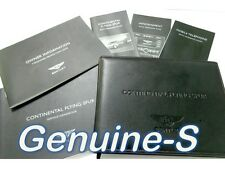 OEM 2006 Bentley Continental Flying Spur Owners Manual Set Owner's Manual book