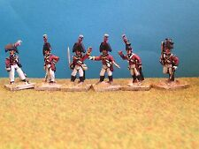 28mm Wargames Foundry Napoleonic British Officers - Early Period