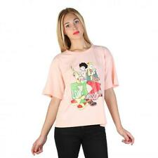Love Moschino Clothing Women T-shirts Pink 74772 Outlet BDX