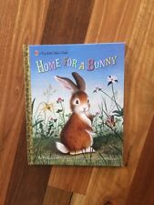 childrens book - Big Little Golden Book HOME FOR A BUNNY