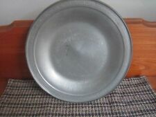 *PEWTER*Large Plate/Charger*NEWBURYPORT PEWTER*TOWLE  7534*etwalls