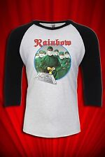 Rainbow Vintage 1981 Tour Tee T-shirt Jersey Difficult to Cure FREE S&H