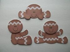3D- U Pick - Gingerbread Cookies Gingers Baking Scrapbook Card Embellishment 433