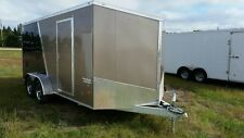 7x16 All Aluminum Enclosed Trailer