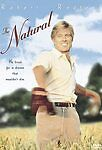 THE NATURAL DVD~2001~SPECIAL EDITION~CLASSIC MOVIE~ROBERT REDFORD~BASEBALL