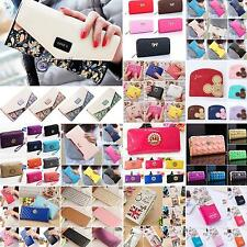 Fashion Womens Ladies Leather Wallet Purse Long Handbag Clutch Bag Card Holder