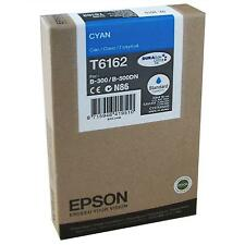 GENUINE EPSON STYLUS BUSINESS COLOR -  CYAN (BLUE) ORIGINAL INK CARTRIDGE T6162