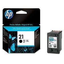 1 HP HEWLETT PACKARD ORIGINAL BLACK INK CARTRIDGE HP 21 HP21 C9351A / C9351AE