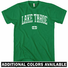 Lake Tahoe T-shirt - Men S-4X - Gift California Nevada Kayaking Fishing Skiing