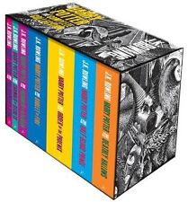 Harry Potter Boxed Set: The Complete Collection (Adult) by J. K. Rowling NEW