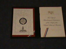 THE OFFICIAL BICENTENNIAL DAY COMMEMORATIVE**** STERLING SILVER MEDAL ****