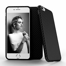 Allergy proof Carbon Fiber Pattern TPU Case Cover for Apple iPhone 7/6S/6 Plus +