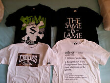 TAKE ALL FOR $50 tshirts Stussy, crooks and castles, pharrell UT