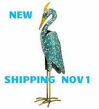 MOSAIC DECOR STATUARY - HERON - FLAMINGO - CRANE - REGAL ART & GIFT 20279-80-81