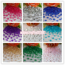 500x 8mm 2ct Acrylic Diamond Confetti Wedding Party  Decoration Table Scatters