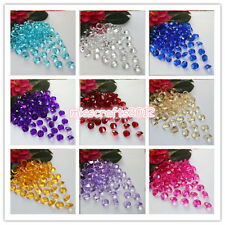 1000x 10mm 4ct Acrylic Diamond Confetti Wedding Party Table Scatters Decoration